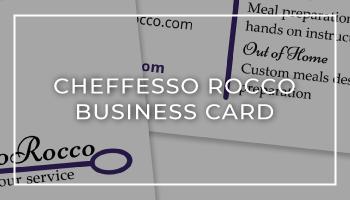 Cheffesso Rocco Business Card