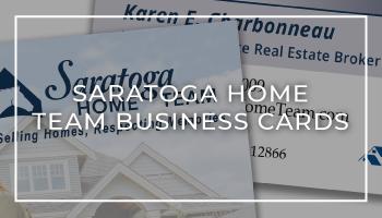 Saratoga Home Team Business Card