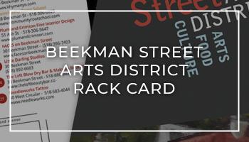 Beekman Street Arts District Rack Card