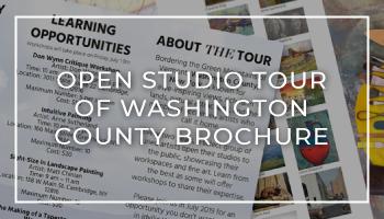 Open Studio Tour of Washington County Brochure