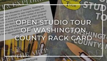 Open Studio Tour of Washington County Rack Card
