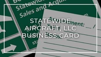 Statewide Aircraft, LLC Business Card