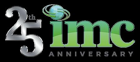 IMC 25th anniversary logo