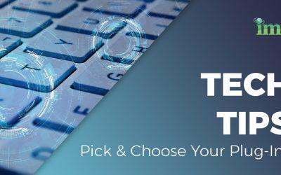 Pick & Choose Your Plug-Ins